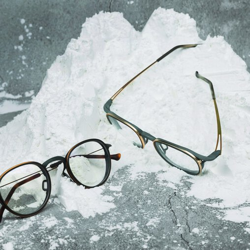 Material properties of PA 2200 means glasses frames that can withstand the high demands of post-processing | © BRAGi