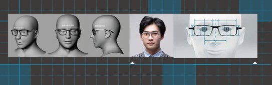 Data about the shape of the head are captured using a 3D scanner | © BRAGi