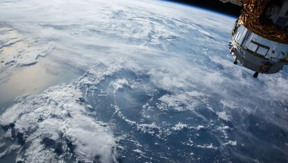 View of the earth from space | © Photo by NASA on Unsplash
