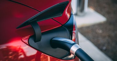 Charging Electric Car | © Photo by Vlad Tchompalov on Unsplash