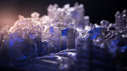 Abnehmbare Teilprothesen aus EOS CobaltChrome RPD - 3D-gedruckter Zahnersatz, DMLS, Metall Pulver | © EOS