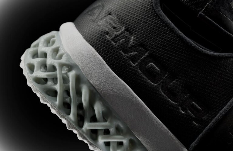 Running shoe by Under Armour with additive manufactured sole | © EOS