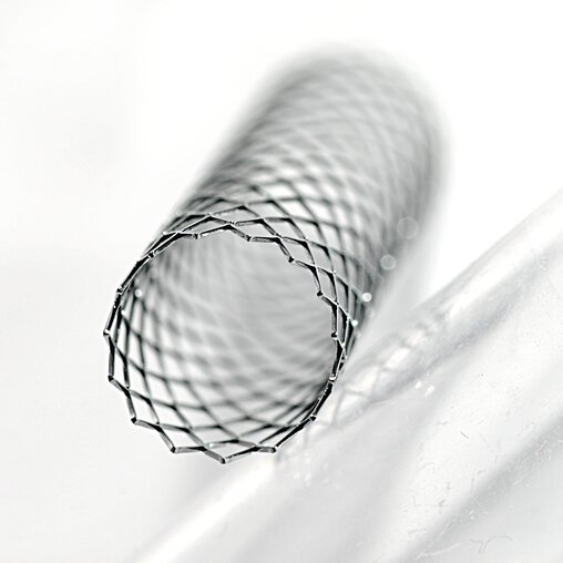 Stent made of MP1   © Photo shutterstock_11603854