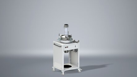 IPCM M extra sieving module with ultrasonic sieve for consistent powder quality with desired particle size