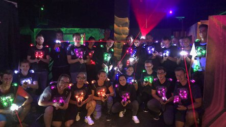 Trainee event in the Lasertag Arena | © EOS